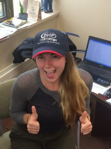The first 60 registrants will receive an exclusive BHP Challenge hat made with organic cotton fabric!